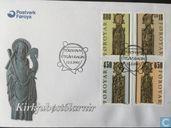 Postage Stamps - Faroe Islands - Church Chairs