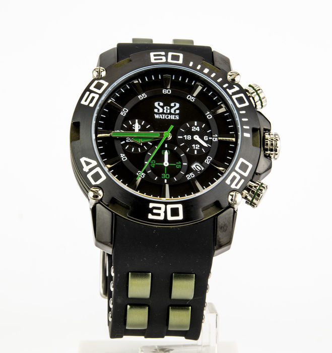 S&S Watches MODEL: SS-GR-1307-JS-1 – Gentlemen's watch.