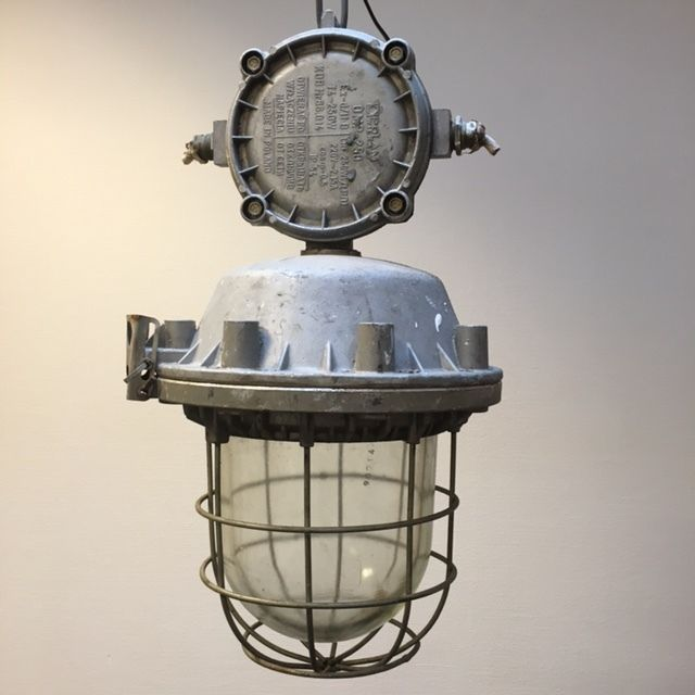 Large Industrial Cage Light / Factory