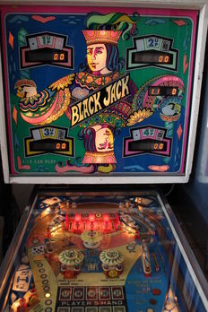 BALLY BLACK JACK Pinball machine - 1977