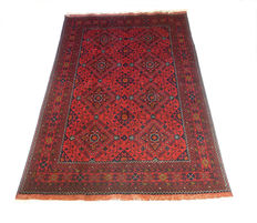 KHAL MAHAMMADI AFGHAN HAND-KNOTTED CARPET 145 x 210 cm circa 1990 NEVER USED
