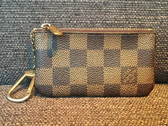 Verbazingwekkend Louis Vuitton key chain / coin pouch - Catawiki TX-49