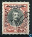 Domingo Santa Maria Gonzalez, with overprint