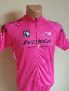 Tom Dumoulin - Pink jersey - signed by hand + COA abf268ee0