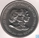 "Falkland Islands 50 pence 1981 ""Marriage of Prince Charles and Lady Diana Spencer"""