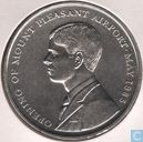 "Falkland Islands 50 pence 1985 ""Opening of Mount Pleasant Airport"""