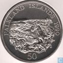 "Falklandeilande 50 pence 1990 ""Children's Fund"""