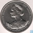 "Guernsey 25 pence 1980 ""80th Anniversary of Queen Mother"""