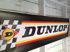 Dunlop - large banner 2009 for your garage, shop or office - 120 x 30 cm