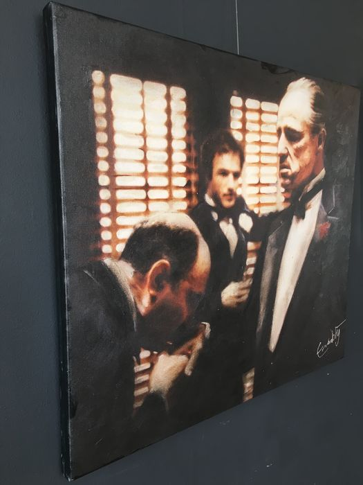 The godfather handkiss marlon brando reproduction for Stephan evenblij
