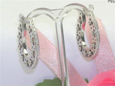 Diamond earrings, 0.60 ct