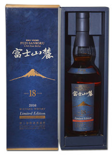 Fuji Sanroku 18 Limited Edition 2016 Oloroso Cask Japanese Whisky 0,7L 43%