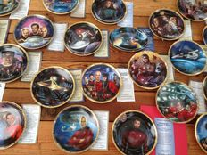Star Trek - The Hamilton Collection - 30x collectors plates
