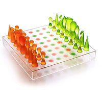 Chess set designed by karim rashid catawiki - Karim rashid chess set ...