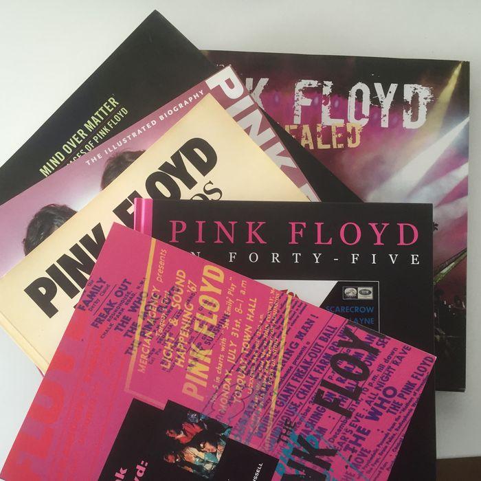 Pink Floyd Superb Collection Of 6 Coffee Table Books Catawiki