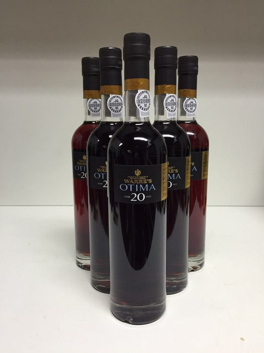 Warre's Otima 20 Year Old Tawny Port, Portugal, 6 bottles 0.5 L.