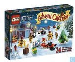Lego 4428 Advent Calendar 2012, City