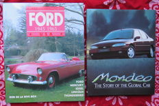 Ford - 2x books - Ford Mondeo, Mercury, Edsel, Lincoln and Thunderbird; Lot with 2 books - 1990/1992