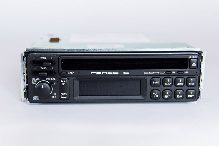 Porsche Cd10 Car Radio With Cd Player Original Unused 90s Rhauctioncatawiki: Car Radio Cd At Gmaili.net