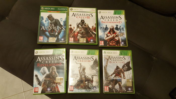 Lot Of 8 Assassins Creed Fallout Games For Xbox 360 Catawiki