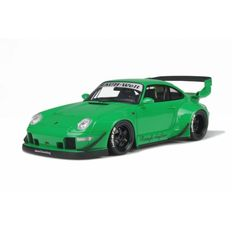 GT-Spirit - Scale 1/18 - Porsche 911 (993) RWB 1995 Rauh Welt Tuning - Colour: Green