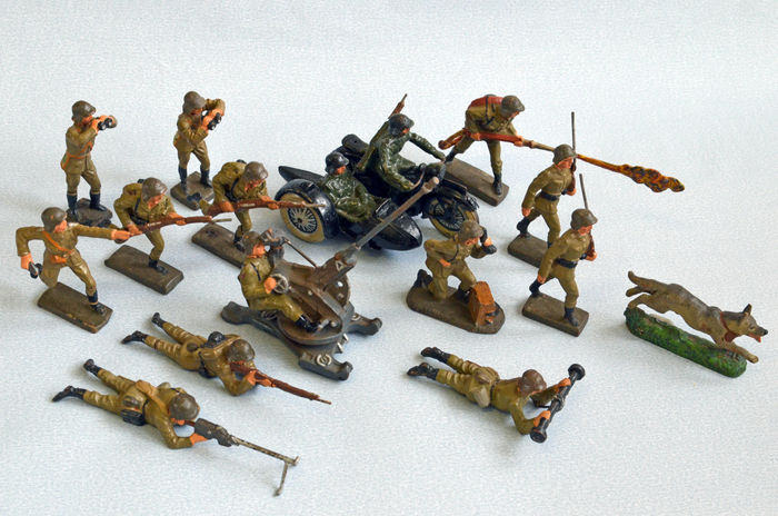 Lineol germany scale lot with composition