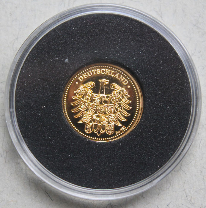 Germany Medal Richard Von Weizsäcker Federal President 1984 To