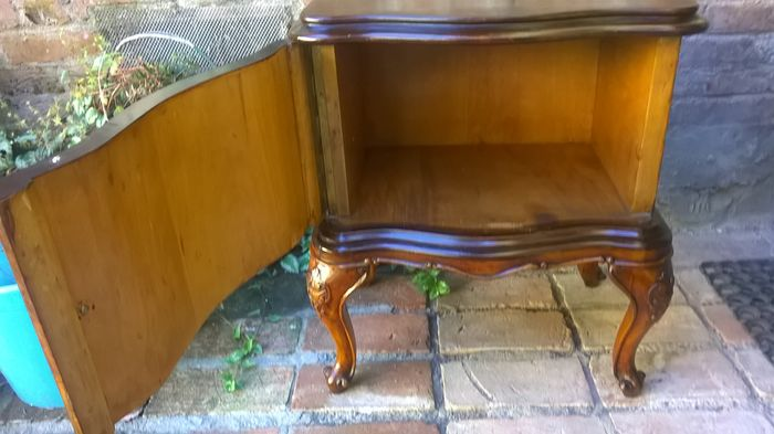 A walnut and burr thuja louis xv style bedside table for Nfpa 99 table 5 1 11
