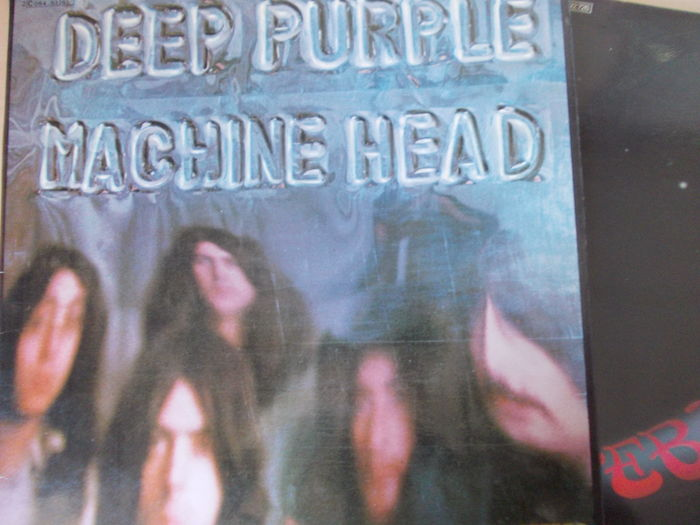 Great Lot with 6 Great LP Albums of Deep Purple