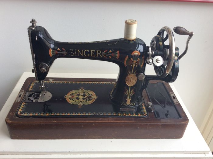 Singer 40K Lotus Sewing Machine 40 Catawiki Simple Lotus Singer Sewing Machine