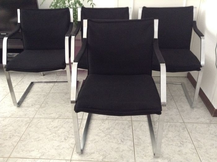 Walter knoll u four chairs from the art collection catawiki