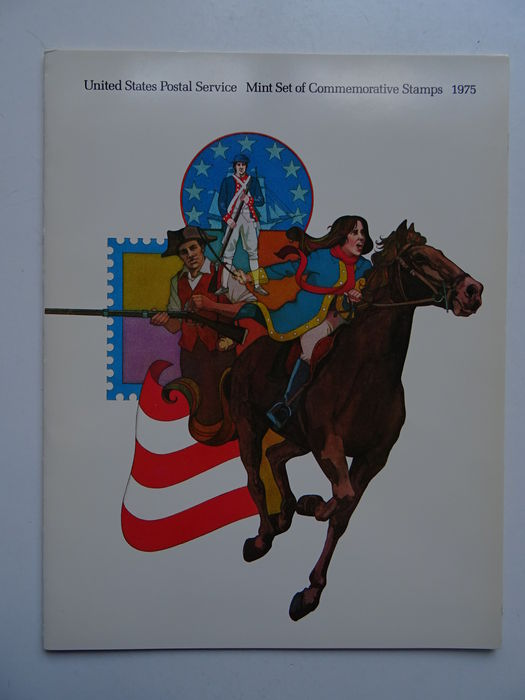USA 1973/1998 - Collection of 25 year sets and year books