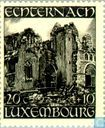 Postage Stamps - Luxembourg - Ruins of the St Willibrord Basilica