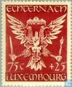 Postage Stamps - Luxembourg - Echternach Coat of Arms