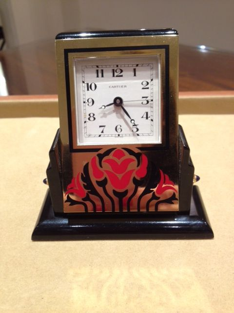 Alarm clock - Lacquer, Steel (stainless) - Late 20th century