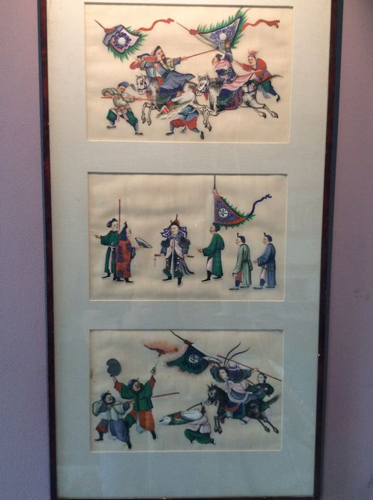 Battle scenes – China – early 20th century