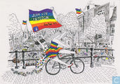 """B160701 - Europride 2016 Amsterdam """"Join our freedom"""""""