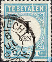 Postage due stamp (p3fe D)