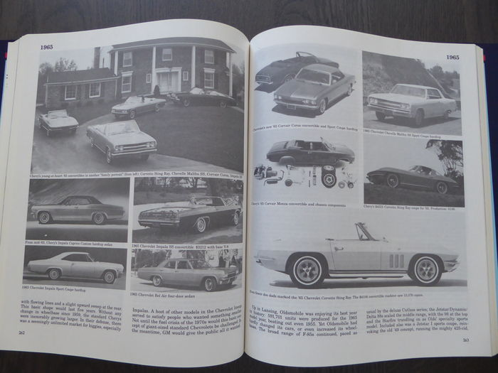 2 books richard m langworth complete history of for History of general motors