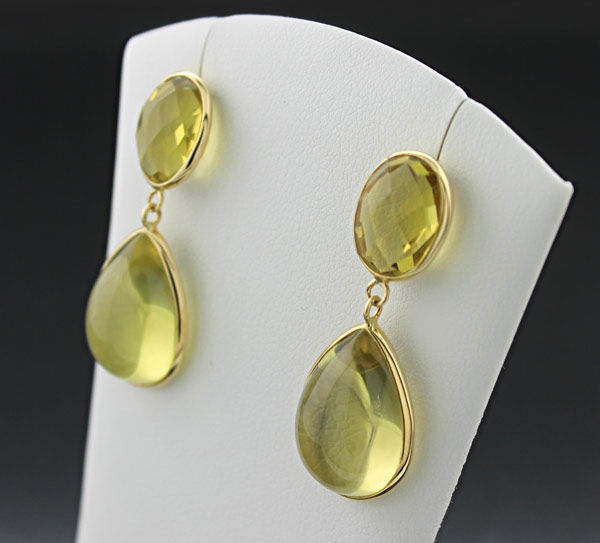 jaipurlemoncitrinestudearrings citrine products color earrings gold petite lemon stud yellow jaipur