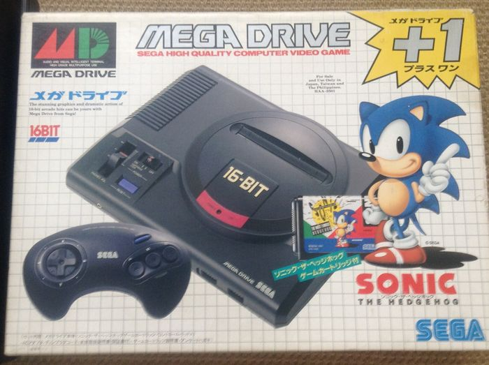 Image result for sonic sega mega drive