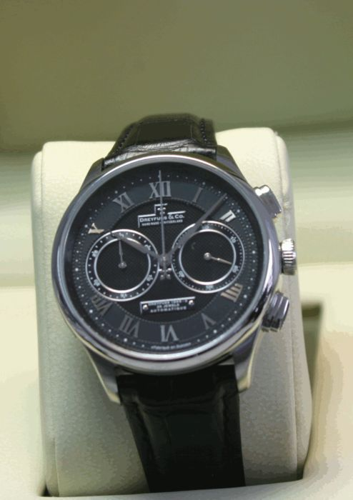 Dreyfuss & Co. - Chronograph Automatic  ungetragen - DGS00094/21 - Heren - 2011-heden