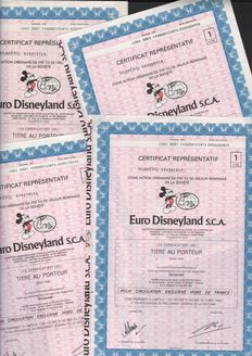 8 x Eurodisneyland Paris 1983 - 1 Action - Mickey Mouse