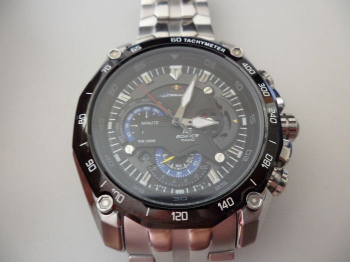 Casio Edifice Men S Limited Racing Edition Team Red Bull Ef