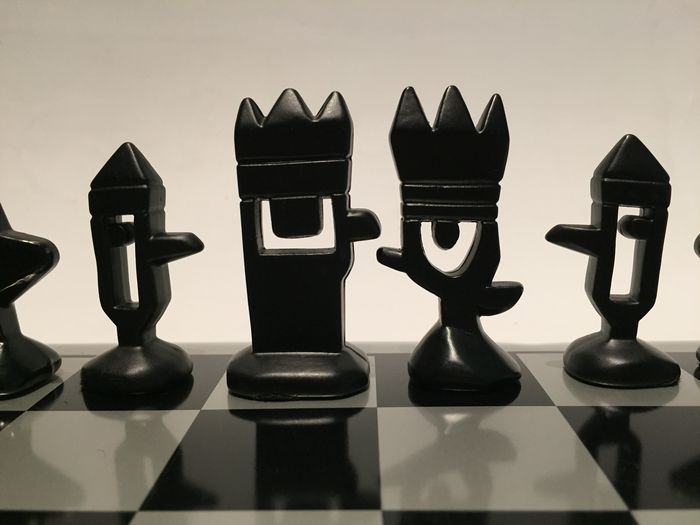 Steel Chess Set mariscal steel chess set, end of the 20th century - catawiki