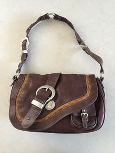 Christian Dior – Gaucho –  Saddle bag / shoulder bag *No reserve price*