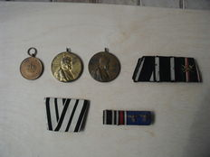 Medals, awards, band clips Germany before 1945