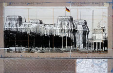 Christo - Wrapped Reichstag '94