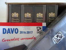 "Accessories - Five Davo LX albums ""Borderless Netherlands"" with canteen + 10 supplements"