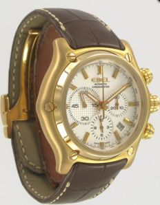 Ebel 1911 BTR chronograph rose gold – men's watch – 2006